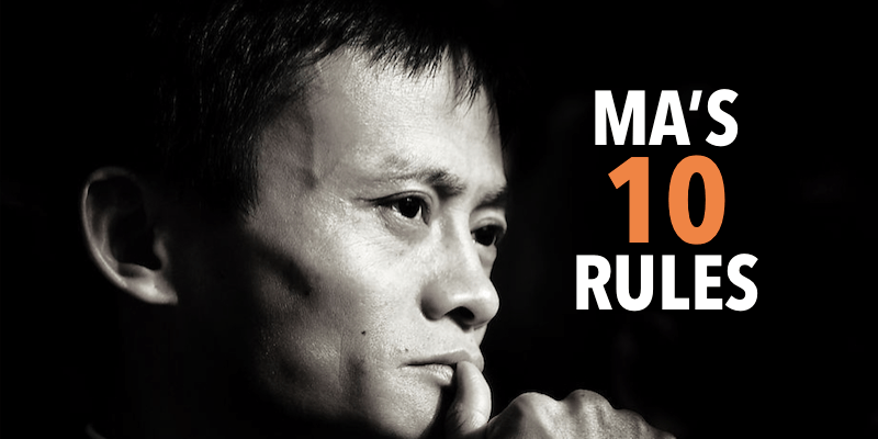 The Daily Echo Jack Ma S Top 10 Rules For Success November 29